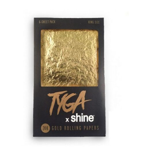 shine papers tyga king size papel oro precios fumar
