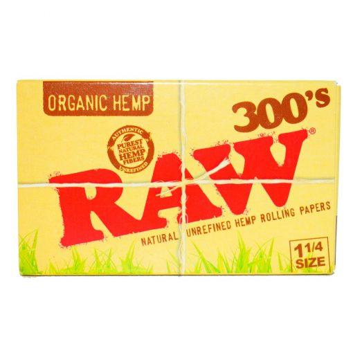papel raw bloc 300 organico