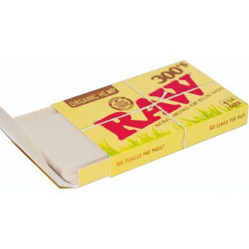 papel raw bloc 300 organic