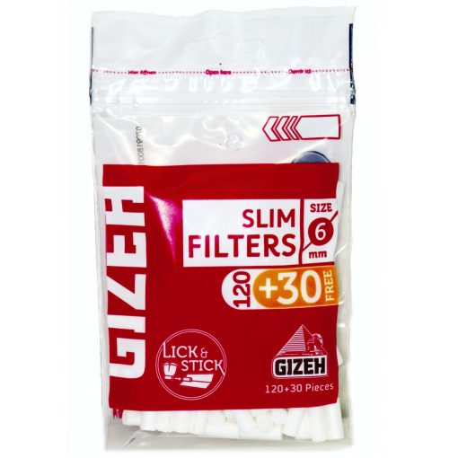 filtros gizeh slim tabaqueria