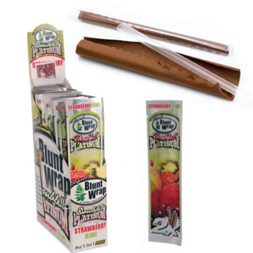 papel blunt wrap strawberry kiwi fumador articulos
