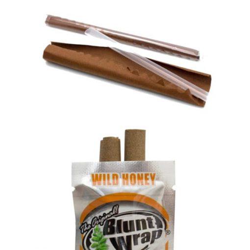 papel blunt wrap wild honey armar cigarrillos