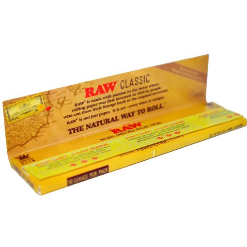 papel raw classic king size precio online
