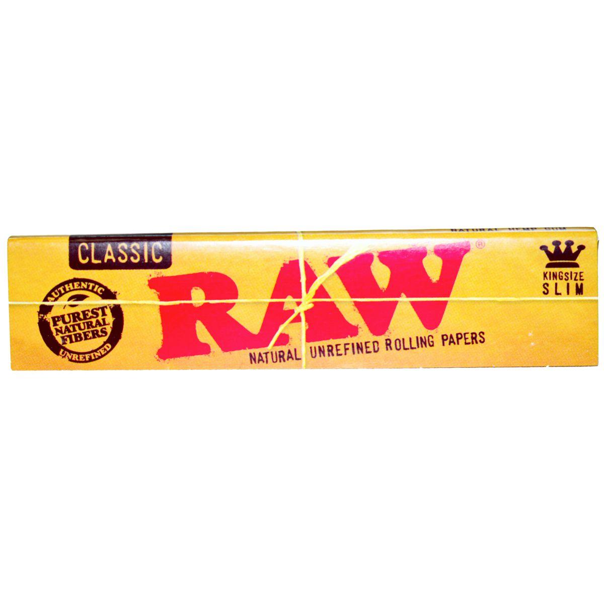 papel raw classic king size precio