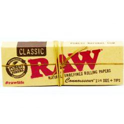 papel raw connosseur classic precios