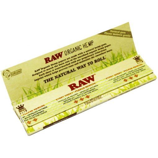 papel raw organic king size venta