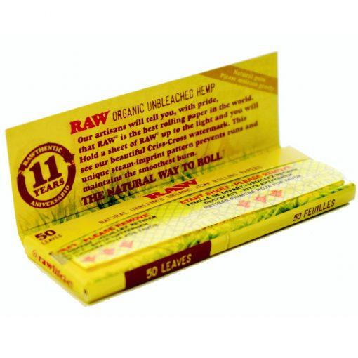papel raw organic precio grow shop