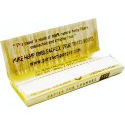 papel pure hemp unbleached para fumar