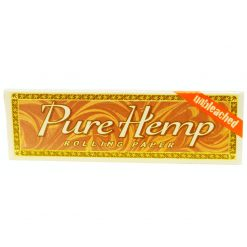 papel pure hemp unbleached fumar