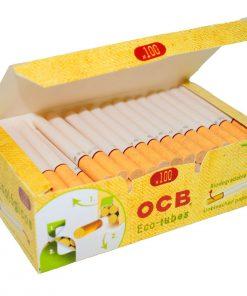 tubos ocb papel organico tabaqueria