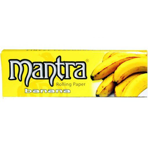 papel mantra banana fumar