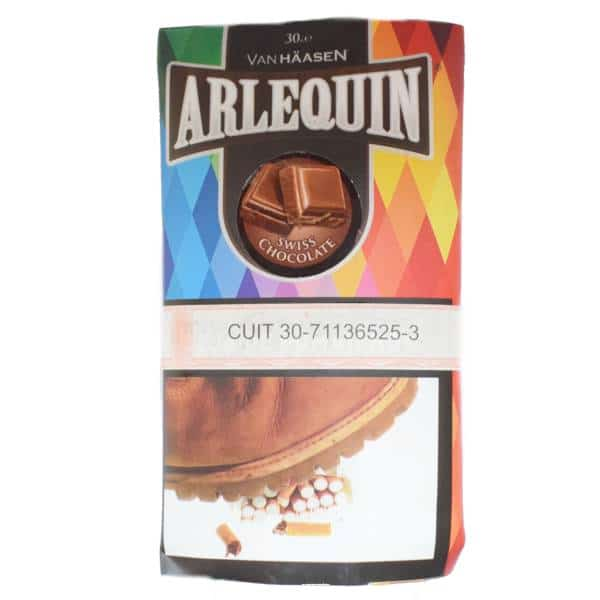 arlequin tabaco chocolate 30gr fumar cigarrillos