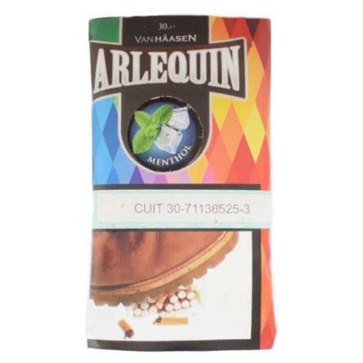 arlequin tabaco menthol 30gr grow shop venta
