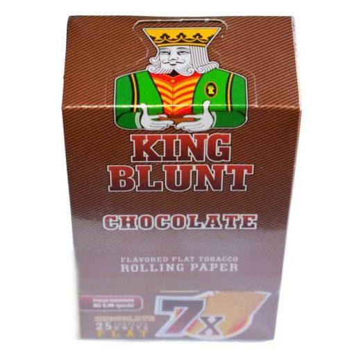 king blunt chocolate 25u papel fumador