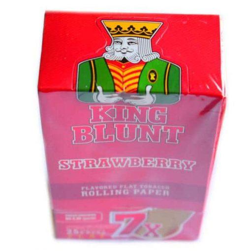 king blunt frutilla 25u fumar papel
