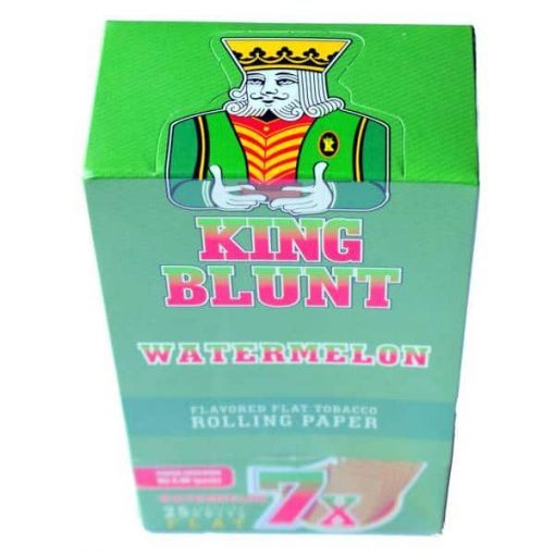 king blunt sandia x 25u cigarrillos papel