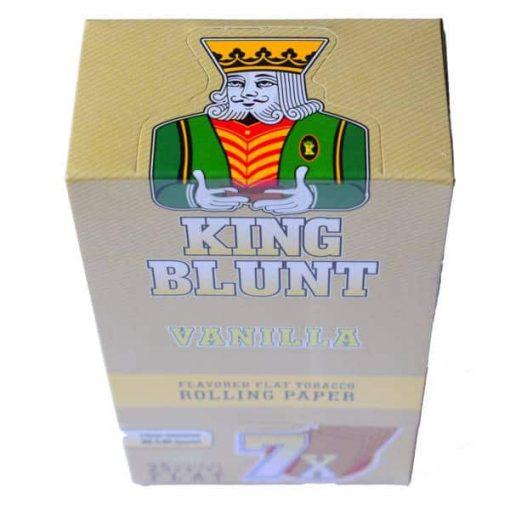 king blunt vainilla x 25u grow shop