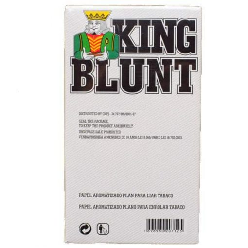 king blunt zero x 25u grow shop mayorista