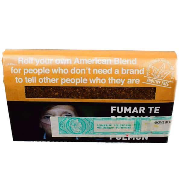 mac baren no name american sin aditivos tabaco 30gr precios online