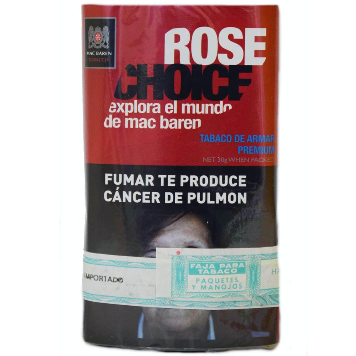tabaco mas baren rose precio online