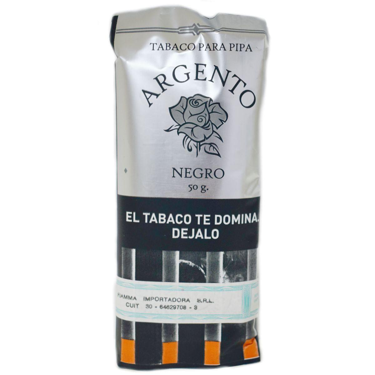 tabaco para pipa negro precio argento