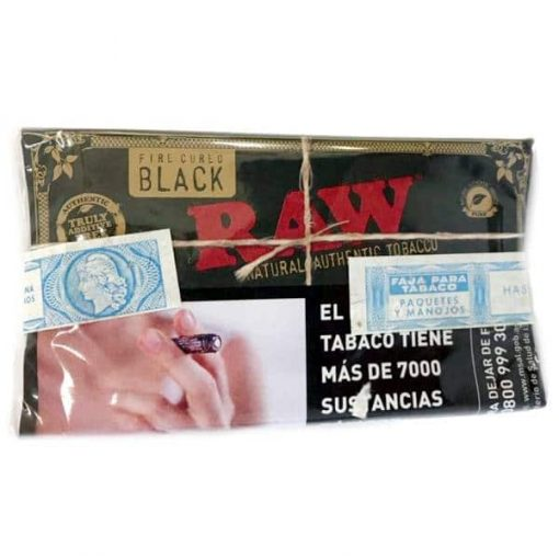 tabaco raw black x 30gr venta online