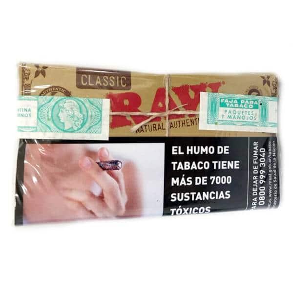 tabaco raw classic x 30gr venta online