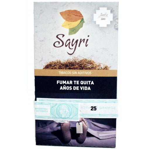 tabaco sayri claro 25 precio online