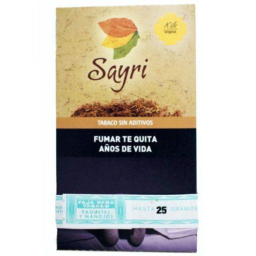 tabaco sayri original 25 precio online