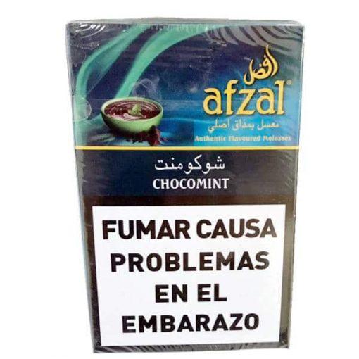 tabaco afzal chocomint narguile precios