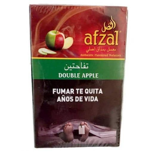 tabaco afzal double apple narguile precios online
