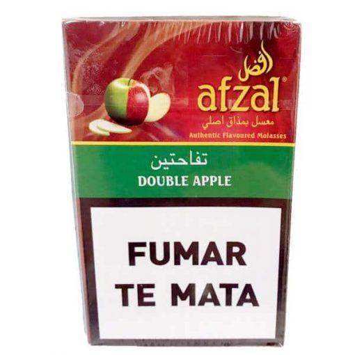 tabaco afzal double apple narguile venta mayorista