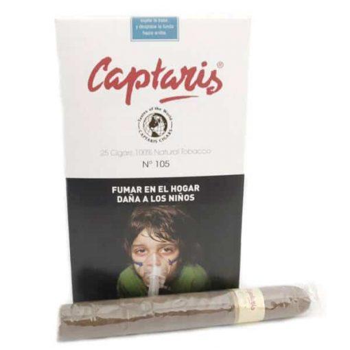 captaris N°105 fumar cigarros