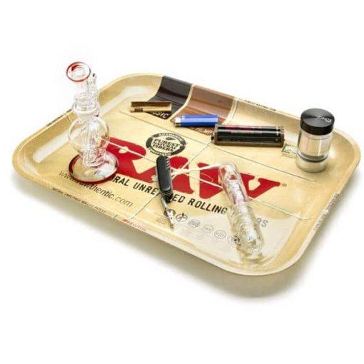 raw bandeja mediana fumador articulos