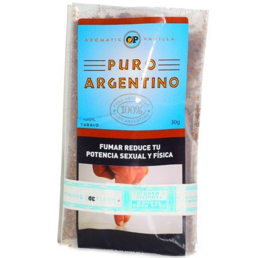 puro argentino vainilla 30 gramos