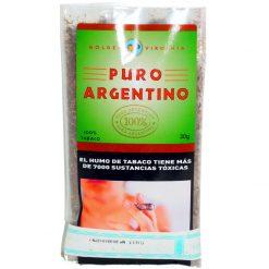 puro argentino virginia 30 gramos tabaqueria precio