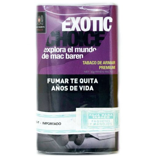 tabaco mac baren exotic precio