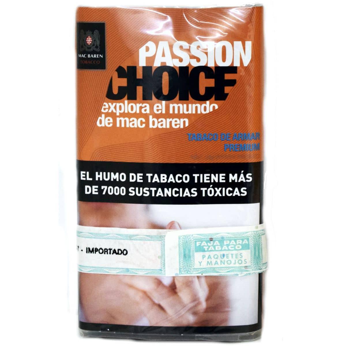 tabaco mac baren passion precio