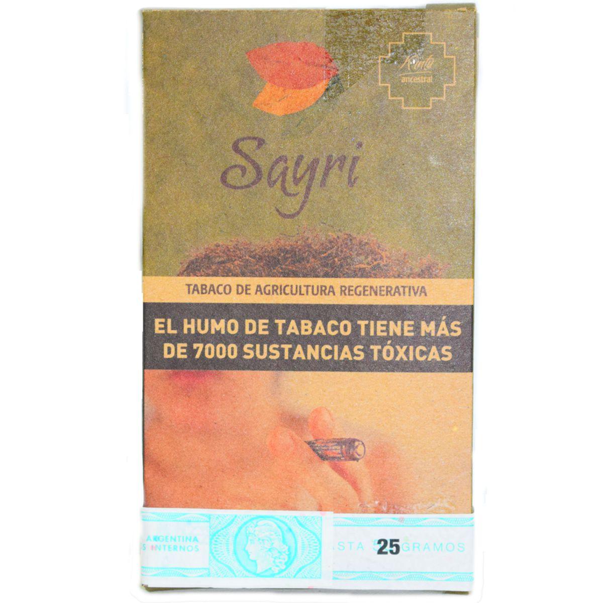 tabaco sayri precio kintu