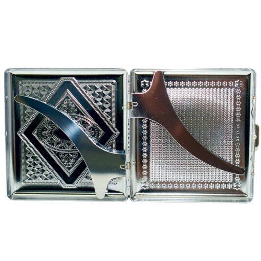 cigarrera metal grabado precio