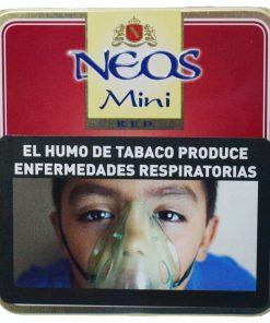 cigarro neos red mini