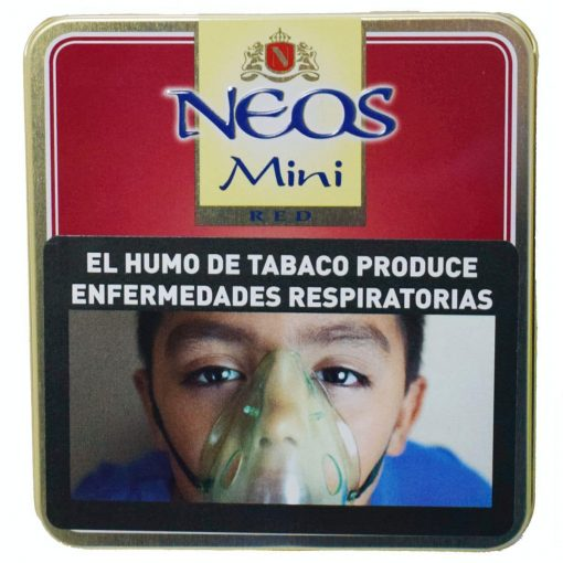 cigarro neos red mini