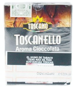 cigarro toscano toscanello chocolate