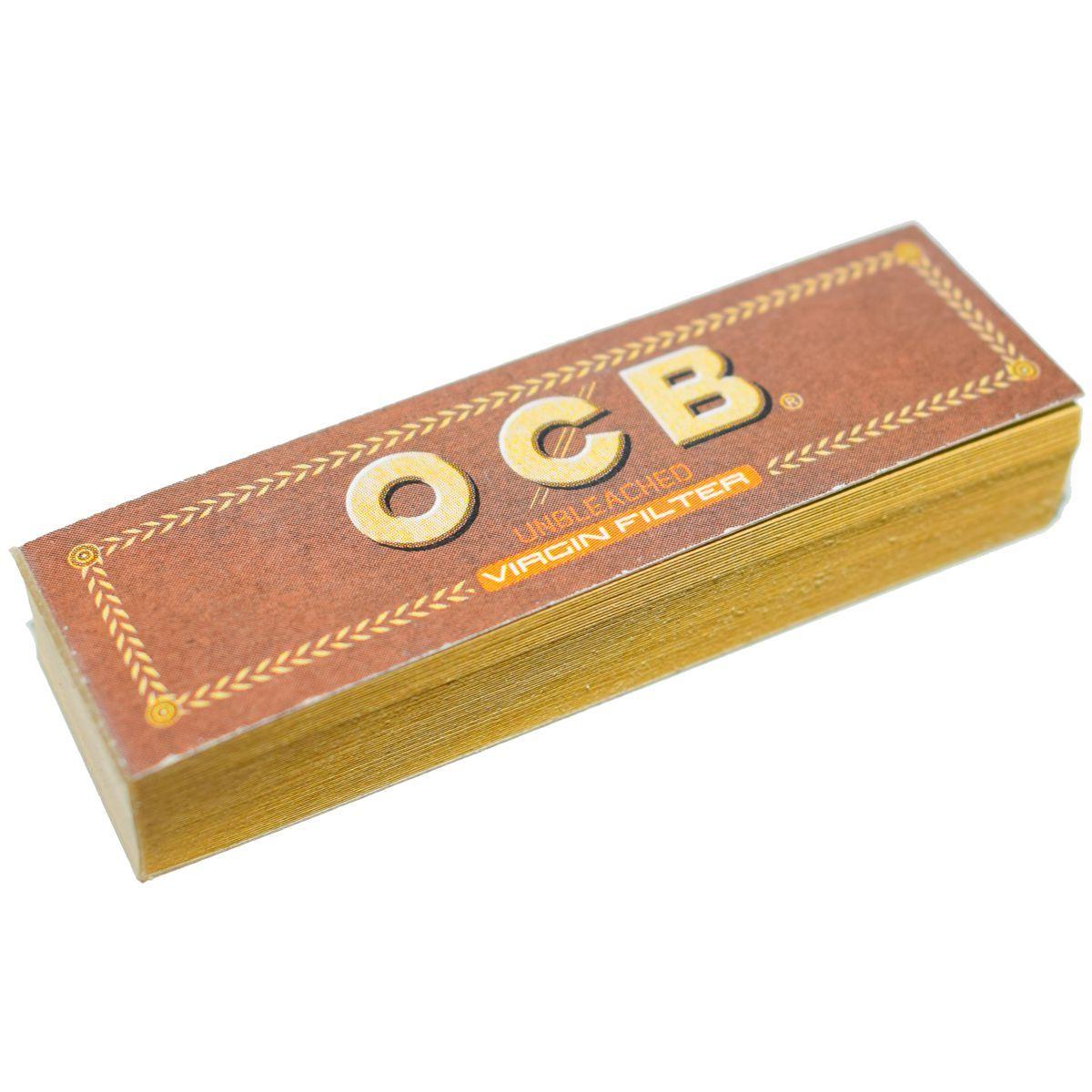 filtros ocb carton unbleached