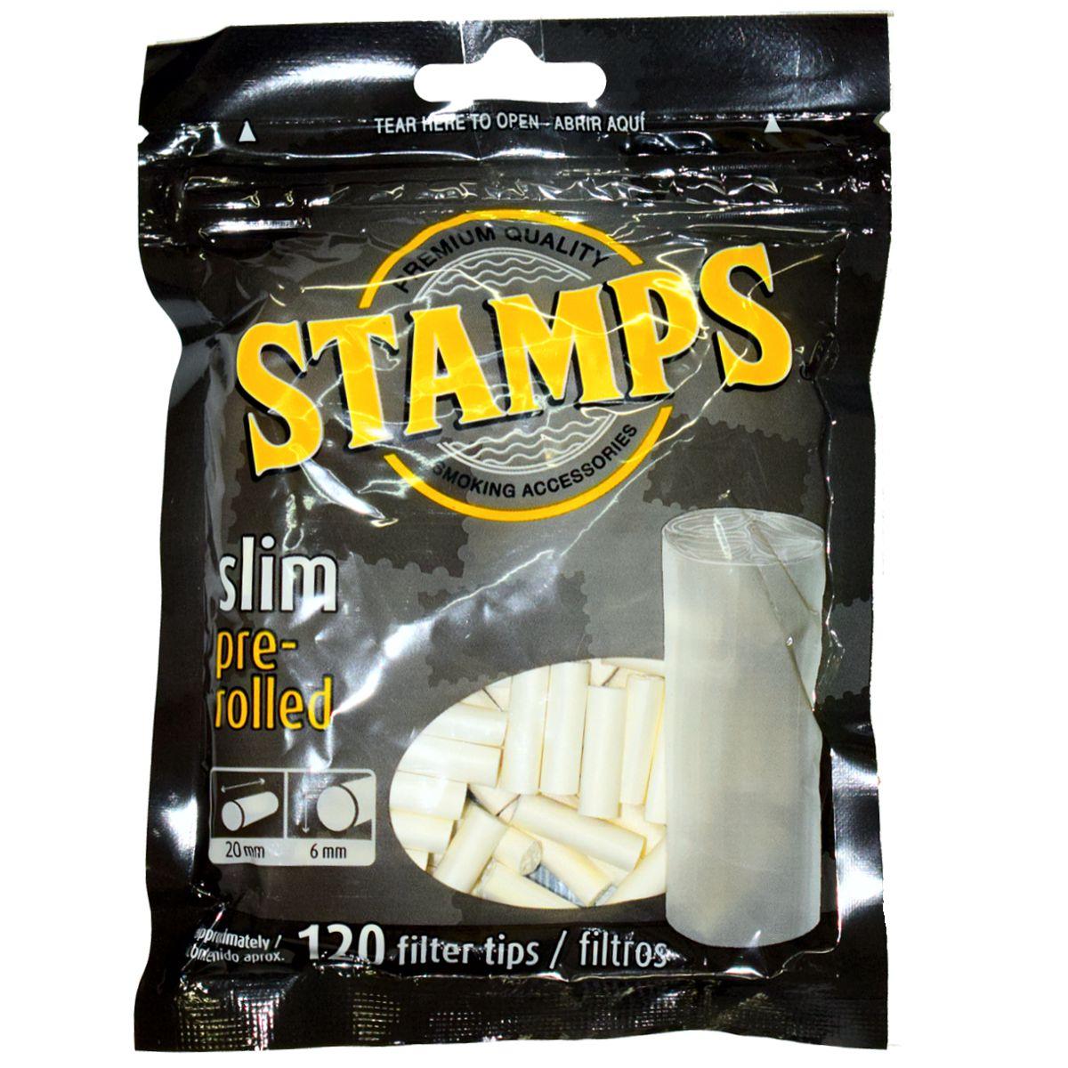 filtros stamps slim pre rolled venta online