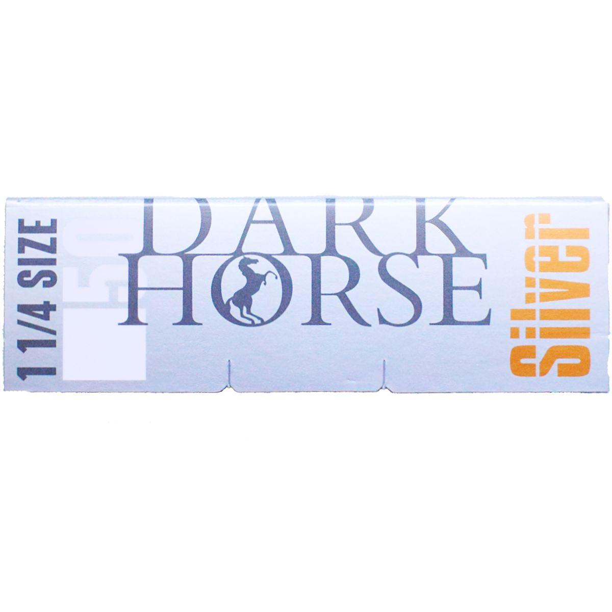 papel dark horse silver fumar