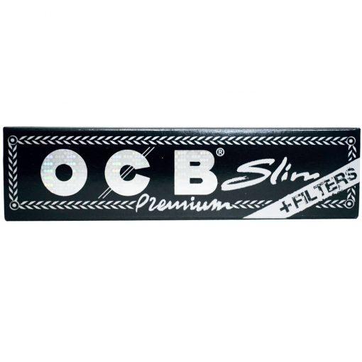 papel ocb slim premium 110 tips