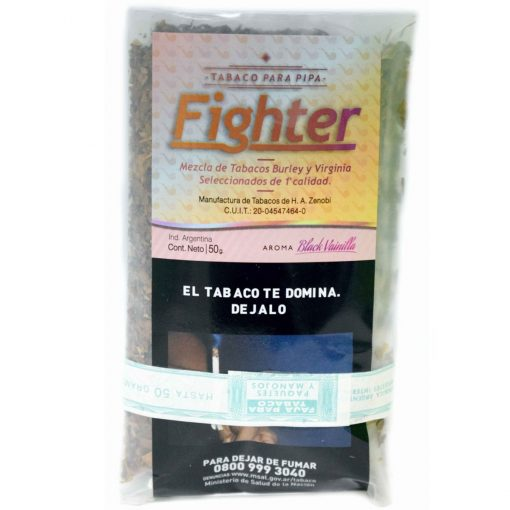 Tabaco pipa fighter veinilla black