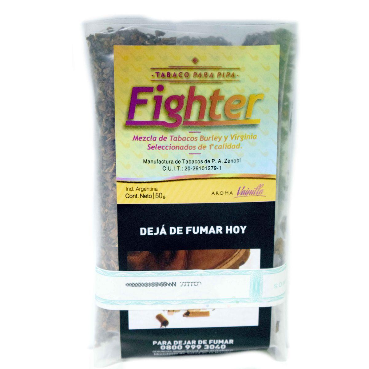tabaco pipa fighter vainilla precio
