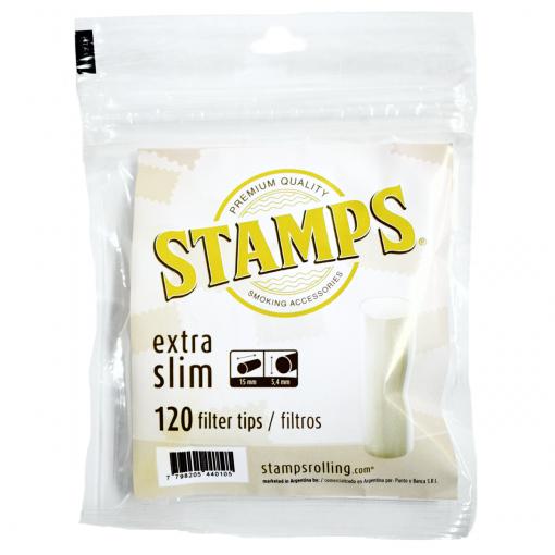 filtros stamps extra slim tabaqueria online
